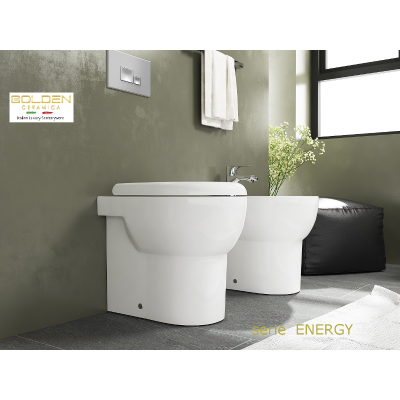 set Sanitari  ENERGY a terra RIMLESS